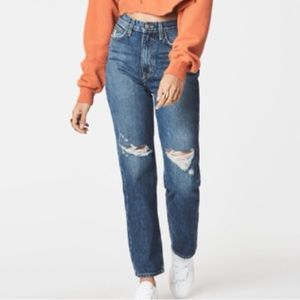 Carmar LF Ursula High Rise Straight Jeans Mom Fit